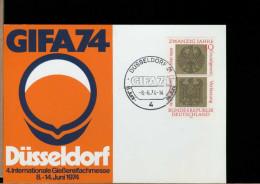 GERMANY - DUSSELDORF  -  GIFA 74 - Fabbriche E Imprese