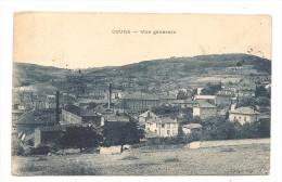COURS   ( Rhone )  Vue Generale - Cours-la-Ville