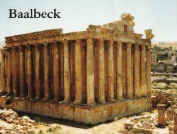 1 AK Libanon * Bacchustempel in Baalbeck - einer der am besten erhaltenen Tempel der r�mischen Welt *