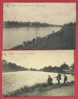 Lanklaar - Vissen In Maas - 2 PK ( Verso Zien ) - Dilsen-Stokkem