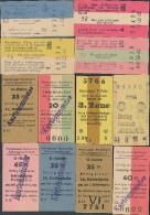 QX910 12 Fahrkarte HHA Hamburg S-Bahn U-Bahn - Europe