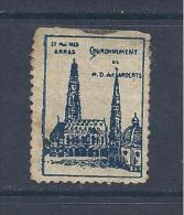 Couronnement De N D Des Ardents Arras 27/05/23 - Commemorative Labels