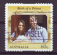 AUSTRALIEN - 2014 - Birth O A Prince - Gestempelt - 2010-... Elizabeth II
