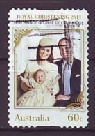 AUSTRALIEN - 2013 - Royal Christening - Gestempelt - 2010-... Elizabeth II