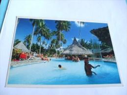 Tahiti Bali-hai Huahine. S´amuser à La Piscine PHOTO ADOLPHE SYLVAIN - Tahiti