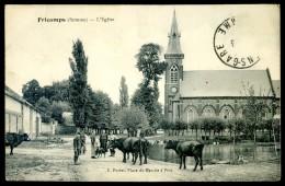 Cpa Du 80 Fricamps L' église  FEV16 3 - France