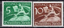 Deutsches Reich - Mi-Nr Z738/739 Postfrisch / MNH ** (B1028) - Germany