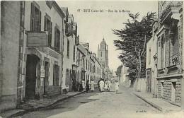 - Loire Atlantique - Ref- B524 - Batz Sur Mer - Rue De La Mairie - Inscription Beurre Sur Façade Gauche - - Batz-sur-Mer (Bourg De B.)