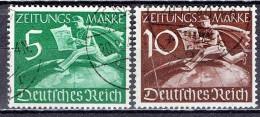 Deutsches Reich - Mi-Nr Z738/739 Gestempelt / Used (B1029) - Oblitérés