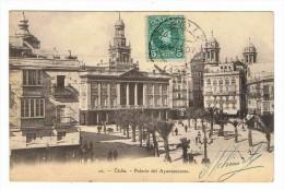 CPA ESPAGNE CADIZ Palacio Del Ayuntamiento - Cádiz