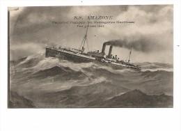 GRE.0020/ S.S. Amazone - Paquebot Français Des Messageries Maritimes - Grecia