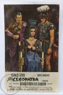 Cinema/ Movie Advertising Image Programme - Cleopatra - Elizabeth Taylor, Richard Burton - Cinema Advertisement