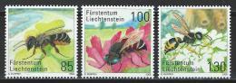 Liechtenstein 2008, Mi 1482-84 ** MNH - Bienen