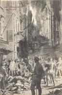DINANT ..-- MILITARIA . Les Massacres . 1910 Vers SAINT - MARD ( Mr Mme GILAIN ) . Voir Verso . - Dinant