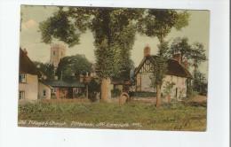 OLD VILLAGE AND CHURCH , LITTLEHAM, NV EXMOUTH 227/4    1908 - Inghilterra