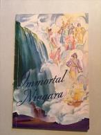 Complete Book Immortal Niagara Falls 1936 Guide - Guide Touristique Canada - Chutes Du Niagara - Esplorazioni/Viaggi