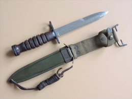 Baïonnette USM4 Imperial, US WW2. - Armes Blanches
