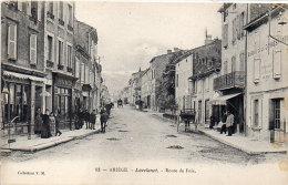 LAVELANET - Route De Foix - Pharmacie - Bureau De La Correspondance   (84375) - Lavelanet