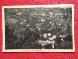 S. Martino Paravanico Panorama 1953 Ed. Vigo Arturo  Genova - Italia