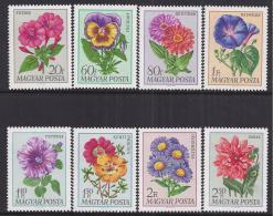 FLORES - HUNGRIA 1966 - Yvert #1993/2000 - MNH ** - Flora
