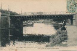 AMIENS - Pont Du Boulevard De BEAUVILLE (pêcheurs) - Amiens