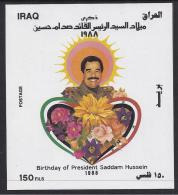 FLORES - IRAQ 1988 - Yvert #H49 - MNH ** - Vegetales