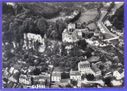 Carte Postale Luxembourg  Larochette Vue D´avion Trés Beau Plan - Larochette