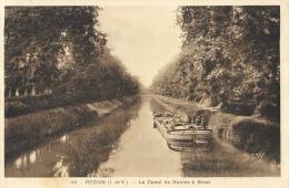 Redon (Ile-et-Vilaine) - Le Canal De Nantes à Brest - Péniche - Edition G. Artaud - Carte Gaby N°48 - Redon