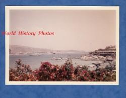 Photo ancienne - Baie de CORINTHES / CORINTH Bay - Petit port - 1967 - Peloponnese Gr�ce Greece Ship Boat