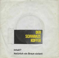 Ralf Bendix 45t. SP ALLEMAGNE *DER SCHWARZE KOFFER* - Vinyl Records