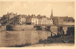 Redon (Ile-et-Vilaine) - Quai De La Vilaine - Pêche Au Carrelet - Edition G. Artaud - Carte Gaby N°31, Non Circulée - Redon
