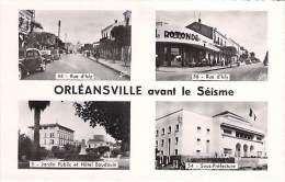 AFRIQUE Maghreb - ALGERIE Algeria - ORLEANSVILLE ( CHLEF ) - Multivues : Avant Le Séisme De 1954 - CPSM Format CPA - Chlef (Orléansville)