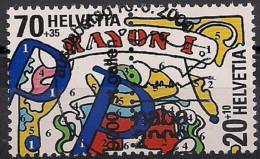 2000 Schweiz Mi. 1722-5 Used Blocstamps   Nationale Briefmarkenausstellung NABA 2000, St. Gallen - Used Stamps