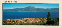 LAGO  DI  GARDA   TORRI DEL  BENACO  (VR)    MAXI CARD  10,5X22  (NUOVA) - Italia