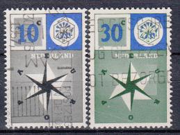 EUROPA - CEPT - Michel - 1957 - NEDERLAND - Nr 704/05 - Gest/Obl/Us - Europa-CEPT