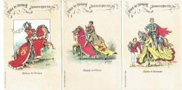 Fêtes De BRUGES - 1907 - Tournoi De L' Arbre D' Or - Illustrateur Flor Van Acker - Litho L. De Haene-Bodart - Brugge