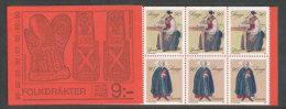 SUEDE 1979 - CARNET  YT C1069 - Facit H317 - Neuf ** MNH -  Noël, Costumes Suédois - Carnets
