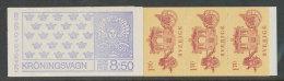 SUEDE 1978 - CARNET  YT C1020 - Facit H309 - Neuf ** MNH - Carrosse Du Couronnement - Carnets