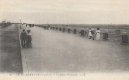 Dép. 62 - LE TOUQUET-PARIS-PLAGE. - La Digue Promenade. Animée. LL N° 177 - Le Touquet
