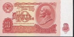 RUSSIA  P225  10  RUBLES 1961    UNC. - Russie