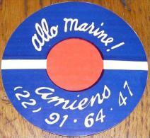 Autocollant Marine Nationale - Pompon N°5 (collector) - Autocollants