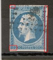 A PLANCHER, RUPTURES FILETS + FILET DOUBLE, 20C Napoléon. - 1853-1860 Napoléon III.