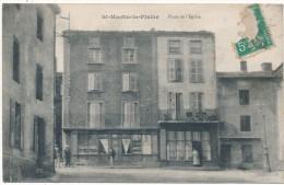 SAINT MARTIN LA PLAINE - Place De L'Eglise - Autres Communes