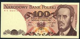 POLAND   P143b  100  ZLOTYCH   1982    UNC. - Polen