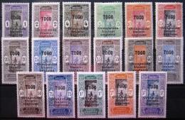 TOGO                  N° 84/100   (84 NSG)                NEUF* - Togo (1914-1960)