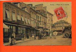 14 AUNAY Sur ODON : Place De La Liberté - Autres Communes
