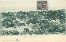 A16-2552 : SAINT PAUL DE LA REUNION CARTE PRECURSEUR - Saint Paul
