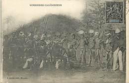 A16-2555 :   NOUVELLE CALEDONIE  GUERRIERS CALEDONIENS - Nouvelle Calédonie