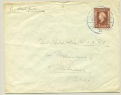 Nederlands Indië - 1946 - Noodstempel Medan Op LP-brief Naar Makassar - Nederlands-Indië