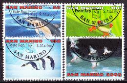 -San Marino 1996-Natura-serie Non Completa Usata - Protezione Dell'Ambiente & Clima
